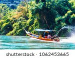 view on boat on mae nam kok... | Shutterstock . vector #1062453665