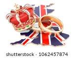 royal wedding concept. wedding... | Shutterstock . vector #1062457874