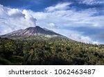 turrialba active volcano | Shutterstock . vector #1062463487