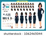 woman character creation set.... | Shutterstock .eps vector #1062465044
