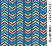 vector colorful striped chevron ...   Shutterstock .eps vector #1062475085