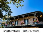 traditional brick house with a...   Shutterstock . vector #1062476021