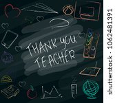 teacher s day handdrawn poster... | Shutterstock .eps vector #1062481391