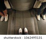 3 of white sneakers  one man...   Shutterstock . vector #1062495131