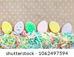 sweets for celebrate easter.... | Shutterstock . vector #1062497594