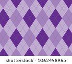 purple argyle background   Shutterstock .eps vector #1062498965
