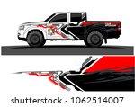 truck graphic vector. abstract... | Shutterstock .eps vector #1062514007