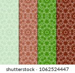 collection of geometric pattern ... | Shutterstock .eps vector #1062524447