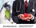 doctor care heart   Shutterstock . vector #1062529157