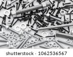 screws  stainless nuts and... | Shutterstock . vector #1062536567
