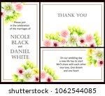 vintage delicate invitation... | Shutterstock .eps vector #1062544085