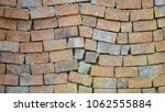 red brick wall background   Shutterstock . vector #1062555884