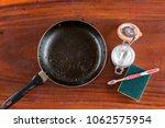 baking soda to soak and remove... | Shutterstock . vector #1062575954