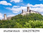 gothic medieval castle bezdez... | Shutterstock . vector #1062578294