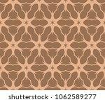 decorative floral ornament.... | Shutterstock .eps vector #1062589277
