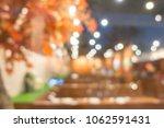 blurred japanese restaurant for ... | Shutterstock . vector #1062591431
