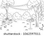 children party graphic black...   Shutterstock .eps vector #1062597011