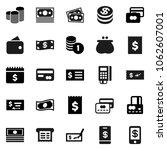 flat vector icon set   credit... | Shutterstock .eps vector #1062607001