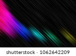 dark multicolor  rainbow vector ... | Shutterstock .eps vector #1062642209