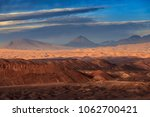 moon valley  atacama desert ... | Shutterstock . vector #1062700421