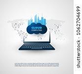 smart city  internet of things... | Shutterstock .eps vector #1062704699