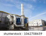 new modern industrial waste... | Shutterstock . vector #1062708659