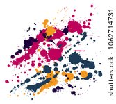 watercolor stains grunge... | Shutterstock .eps vector #1062714731