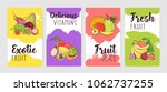 collection of poster of flyer... | Shutterstock .eps vector #1062737255