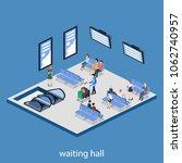 isometric 3d illustration... | Shutterstock . vector #1062740957