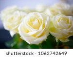 Stock photo bouquet of white roses 1062742649