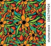 doodle seamless pattern   Shutterstock . vector #1062749924