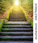 steps leading up to the sun. ... | Shutterstock . vector #1062750614
