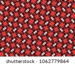 a hand drawing pattern made of... | Shutterstock . vector #1062779864