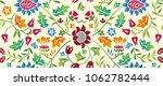 floral seamless horizontal... | Shutterstock .eps vector #1062782444