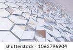3d rendering of abstract... | Shutterstock . vector #1062796904