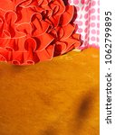 women flamenco fashion ...   Shutterstock . vector #1062799895
