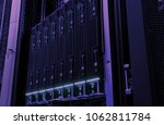 close up of hard drives disk... | Shutterstock . vector #1062811784