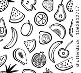 vector seamless pattern with... | Shutterstock .eps vector #1062812717