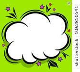 retro comic design cloud. flash ... | Shutterstock .eps vector #1062850541