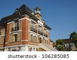 france  the city hall of... | Shutterstock . vector #106285085