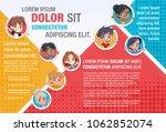 template for advertising... | Shutterstock .eps vector #1062852074