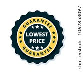 lower price guarantee label... | Shutterstock .eps vector #1062853097