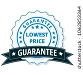 lower price guarantee label... | Shutterstock .eps vector #1062853364