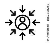 customer centricity icon | Shutterstock .eps vector #1062868259