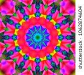 psychedelic background. ...   Shutterstock . vector #1062874604