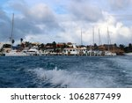 view of the quays of the island ...   Shutterstock . vector #1062877499