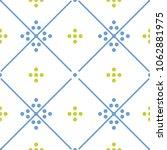 tile green  blue and white...   Shutterstock .eps vector #1062881975