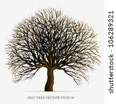 tree vector silhouette... | Shutterstock .eps vector #106289321