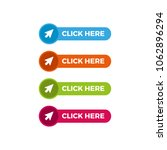 click here button with arrow... | Shutterstock .eps vector #1062896294
