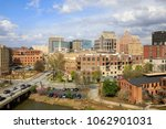 a view of downtown greenville... | Shutterstock . vector #1062901031